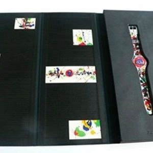 Swatch Accessories - 1992 Art Swatch Watch SAM FRANCIS Limited Edition